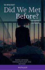 Did we met before? by Maifreya20