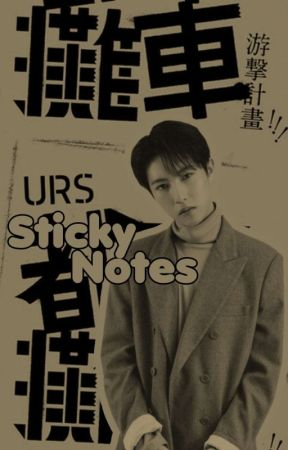 sticky notes by reveluevs