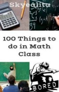 100 Things to do in Math Class cover
