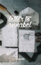 letter to annabel.   shadowhunters (eng+ita) by Roriwrites