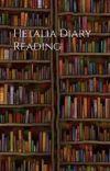 Hetalia diary reading cover