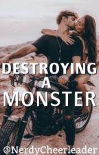Destroying a Monster (Xavier) by NerdyCheerleader