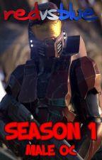 Red vs Blue Season 1: Male Oc by xSpartanLeox