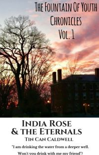 India Rose & The Eternals - The Fountain Of Youth Chronicles Vol. 1 cover