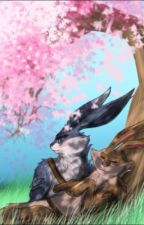 E Aster BunnymundxHalf-Pooka Reader by artist134