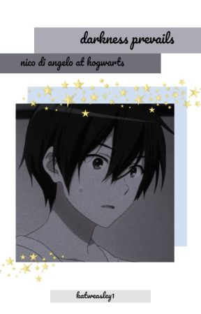 Nico Di Angelo at Hogwarts- Darkness Prevails by KatWeasley1