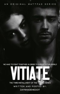 VITIATE (Book Three) - Zayn Malik cover