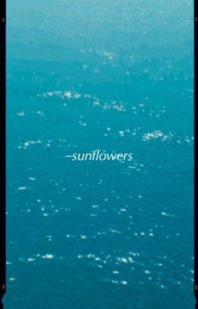 sunflowers.  by clairities