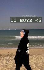 11 boys | wanna one ✔ by yeetchannie