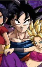 Goku x Caulifla y Kale by MajinGohanMysticx15
