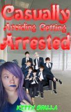    AU// BTS // CRACKFIC    Casually Avoiding Getting Arrested  by KittySpalla