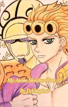 My Anime Sketches (Part 2!) by DAInspirai