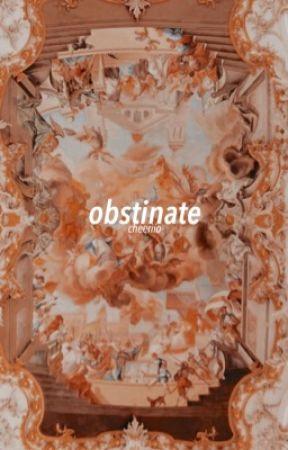 obstinate / todobaku by cheeriio-