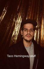 Taco Hemingway stuff by kluska123123