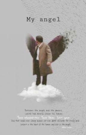 •  My angel  • Destiel  by nuvenzinha_azul