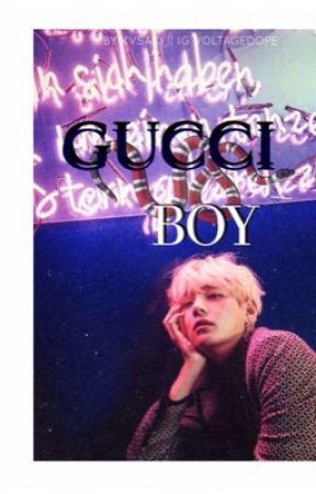Gucci Boy ㅡ; Vkook by kvsaki