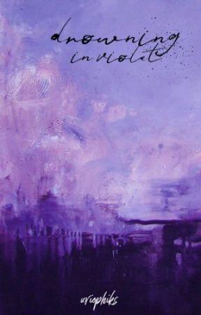 drowning in violet - skephalo by uviophiks