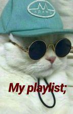 My playlist; by valtersaetre