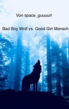 Bad Boy Wolf vs. Good Girl Mensch by space_guuuurl