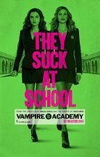 Vampire Academy - Richelle Mead bởi Remi-chan