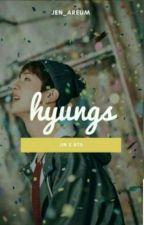 BL-CKDREAMY tarafından yazılan HYUNGS • Jin × BTS adlı hikaye