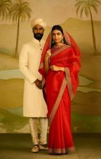 The Red Saree by batulyunus