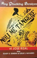 Noli Me Tangere Script  by Jaspheray