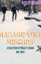 Manage your mischief (Weasley twins x reader) / one-shots [DISCONTINUED] by WeasleyParker