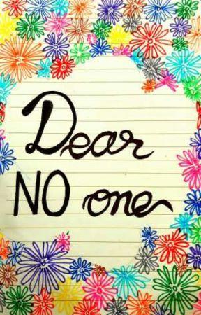 Dear No One  by tabassum15
