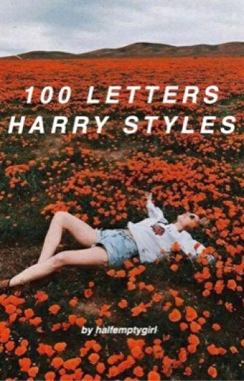 100 LETTERS // harry styles