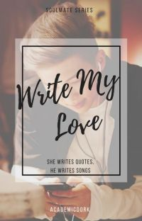 Write my love // Namjoon x reader: Soulmate Series cover