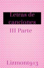 Letras de Canciones  (Dreamworks & más) Tercera Parte by Lizmont913