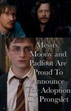 Messrs. Moony and Padfoot Are Proud To Announce The Adoption Of Prongslet by ohmydemigod2207