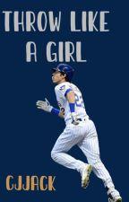 Throw Like a Girl// Milwaukee Brewers Baseball by Cjjack