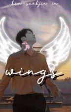 wings || kim seokjin by andrenile