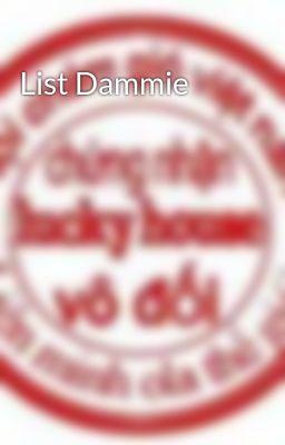 Đọc truyện List Dammie