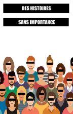 DES HISTOIRES SANS IMPORTANCES by leboutondechemise