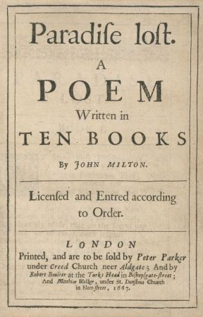 PARADISE LOST (Completed) by johnmilton