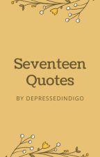Seventeen quotes  by depressedindigo