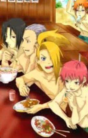 Akatsuki X Naruto Characters  by Kaylahotthunder