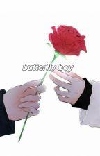 butterfly boy 『m.yg + j.hs』 by -arataqa