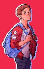 Trans Peter Parker (bxb) by rainbowchild17