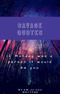 101 SAVAGE QUOTES cover