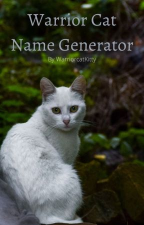 Warrior Cats Name Generator Rock And Gem Based Names Wattpad