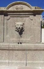 Hand Carved Limestone Wall Fountain from France - Fountaine Tete de Lion by pittetarch
