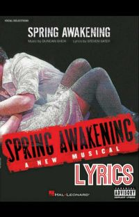 Spring Awakening Lyrics cover