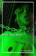 goth angel sinner by peep_shawty