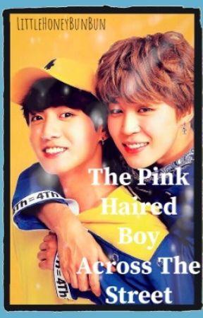 The Pink Haired Boy Across The Street #JikookSmut by LittleHoneyBunBun