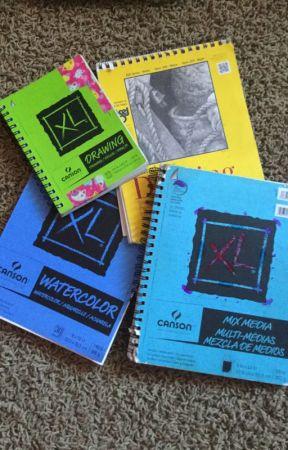 My Art books by Shamzies71