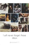 I will never forget these days cover